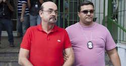 Mario Sergio Machado Nunes (left)