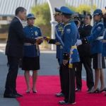 Ecuador Police Commander Diego Mejia is sworn in