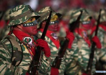 Venezuelan soldiers