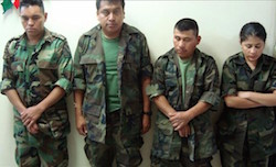 Soldiers charged in the Tlatlaya case