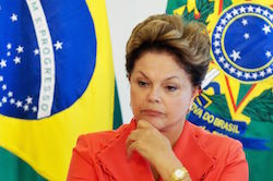 Brazil's President, Dilma Rousseff