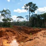 Mining area in Brazil's Roosevelt reserve