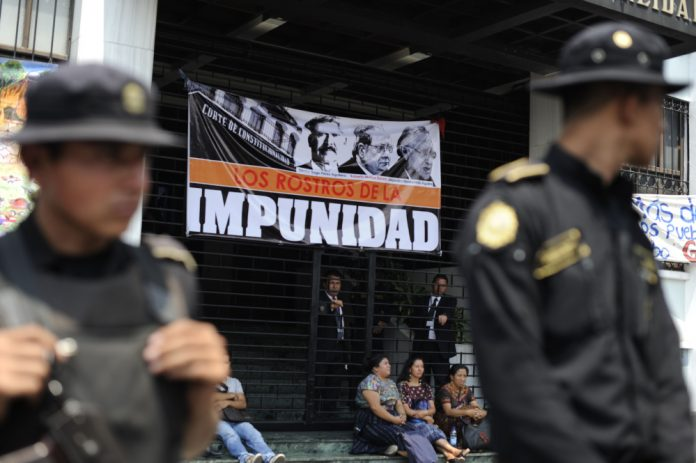 A new report highlights impunity in Guatemala