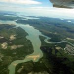Argentina's Parana River, as seen from a plane