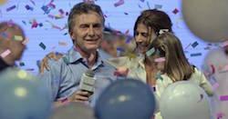 Argentina's President elect Mauricio Macri