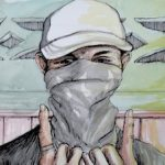 Calaca, an MS13 gang member in San Pedro Sula