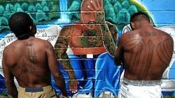 Alleged gang members in Honduras