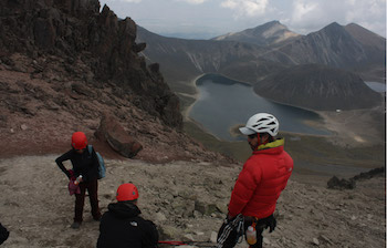 Mountain climbers have been targeted by criminals in Mexico