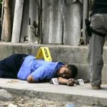 One of El Salvador's many murder scenes