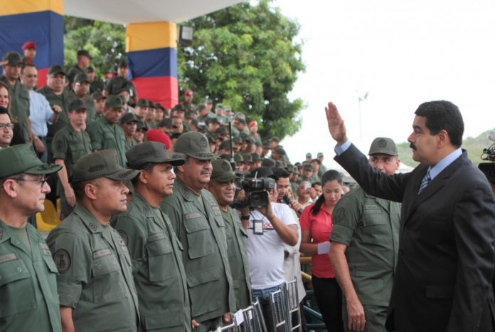 President Maduro with the Venezuelan Air Force