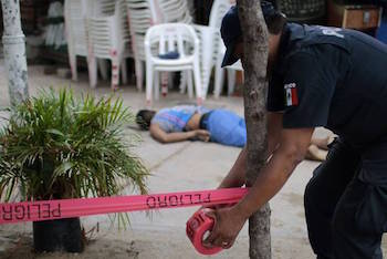 Mexico saw a slight increase in murders in 2015