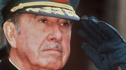 Augusto Pinochet's dictatorship lasted from 1973 to 1990
