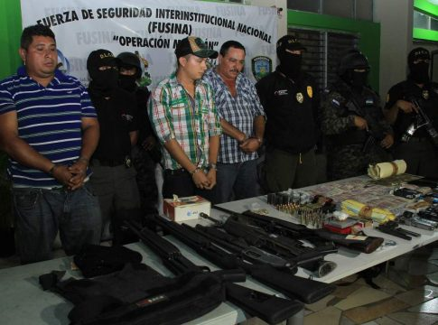 Three alleged members of the AA Brothers Cartel arrested Jan. 30