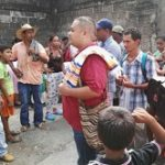 Residents were recently displaced from El Bagre, Antioquia by conflict between armed groups.