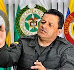 Colombia's National Police Director, Jorge Hernando Nieto