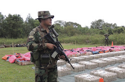 The FELN has seized nearly 70 tons of drugs in 2016