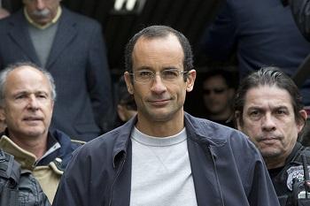 Former CEO Marcelo Odebrecht during his arrest