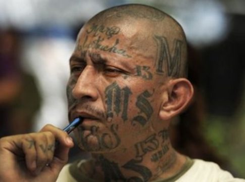 An alleged member of the Mara Salvatrucha gang