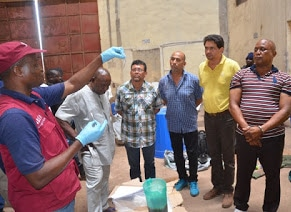 Mexican experts at meth lab bust in Nigeria