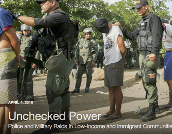 Human Rights Watch Report: Unchecked Power
