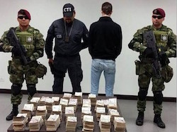 Luis Javier Rojas Morera was detained with $201,000 in cash