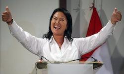 Peru's Keiko Fujimori