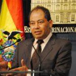 Bolivia's Interior Minister Carlos Romero