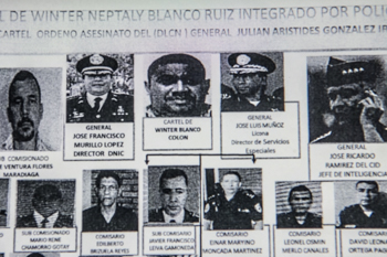 Purported Honduran police file