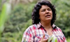 Murdered Honduran activist Berta Cáceres