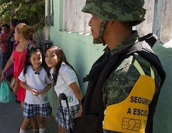 Schools in Acapulco have been targeted by organized crime for years