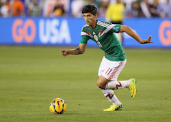 Alan Pulido has played for the Mexican national team