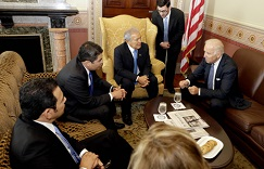 US Vice President Joe Biden meets with the Northern Triangle presidents