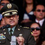 Colombia Police Chief Jorge Hernando Nieto