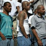 Gang members in El Salvador