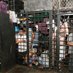 Salvadoran jail cells. c/o La Prensa Grafica