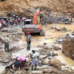 Alluvial gold mining affects nearly 79,000 hectares of land in Colombia