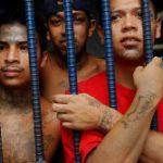 Incarcerated youth gang members in Guatemala