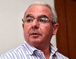 Carlos Cota Lama, the leader of the Dominican Liberation Party (PLD)