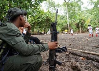 The FARC in Nariño, Colombia
