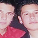 Guzmán brothers Iván (left) and Alfredo