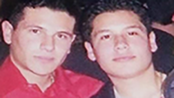 Guzmán brothers Iván (left) and Alfredo