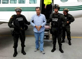 "Arrested criminal boss ""Puntilla"" Pachón"