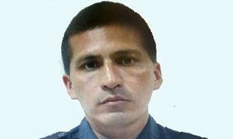 Killed police officer Alberto Marroquín