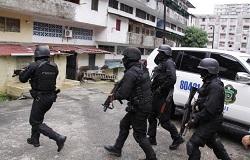 Members of Panama's National Police