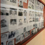 Photographs of people reported missing in El Salvador