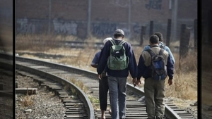 Central American migrants head north.