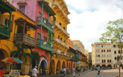 Colombia's coastal city of Cartagena
