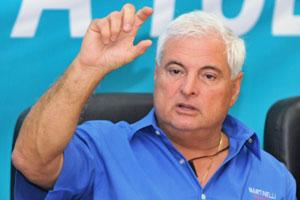 Former Panama President Ricardo Martinelli
