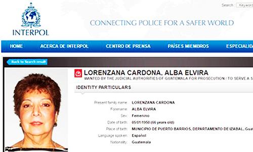 Alba Elvira Lorenzana Cardona