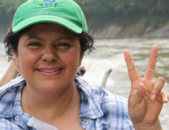 Slain activist Berta Cáceres